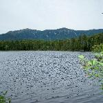 Lonesome Lake--a great hike a half hour north of us in Franconia Notch State Park.