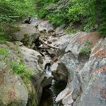Nearby Sculptured Rocks Natural Geologic Formation and just a cool place to explore. It and Six