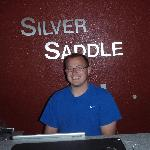 Artur, friendly and hospitable owner of the Silver Saddle