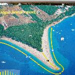  laa spiaggia di Zlatni Rat