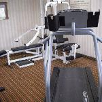 Small workout area