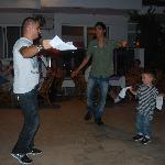  Little Thomas dancing for his prize with David etc;