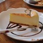  Cheese cake.
