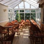 The Seaclyffe conservatory with bar