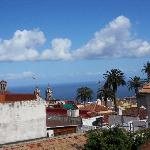  View from the balcony over Orotava