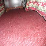 Torn Carpet also dirty