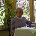  Mother in the restaurant