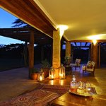 Private outdoor dinner at Hogmead