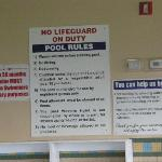  safety rules for pool