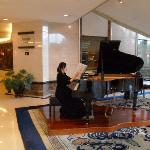 Piano player in the Lobby