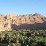 The panorama view of Todra Gorge!