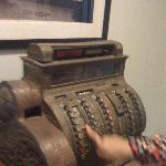 Old machine in exposition
