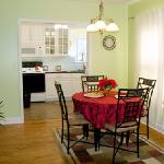 Dining Area & Fully Equipped Kitchenette