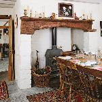 Dining room of the cottage.