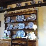  Antique Dishes - Willow Pattern