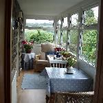 Conservatory & view