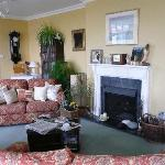 The gorgeous living room.