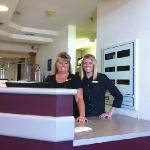 Melissa and Jessie, our great staff!