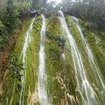 Salto de Limon waterfall, by horseback