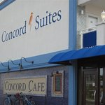 Street entrance to Concord Cafe