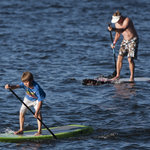Paddleboarding fun for all ages