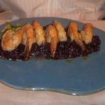  shrimp &amp; black rice