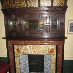 Great Example of an Arts and crafts fireplace