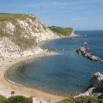 By Durdle Door