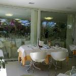  Sala da pranzo estarna ed interna