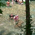 Kids in Ginnie Springs July 2011