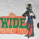 I stayed at the Wide Mouth Frog