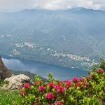 Lago de Orta from Monte Mottorone
