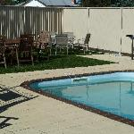 Swimming Pool and BBQ area