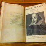 First Folio on display