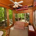 Lincoln: The sunroom off the open great room is a great way to take in the outdoors.