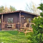 1 bed room log cabin