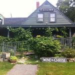 their wine & cheese shop