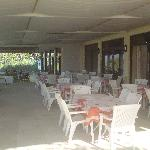  outdoor resteraunt area