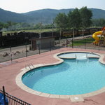 Greet passengers on the Durango & Silverton Narrow Gauge Railroad from our new pool!