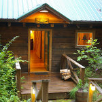 One of our log cabins