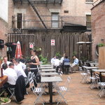 Garden patio available for parties & casual dining