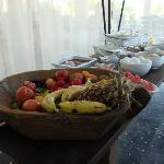 Brilliant idea for a hygenic breakfast buffet