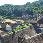The Lot from the Terrace of Estaing Chateau