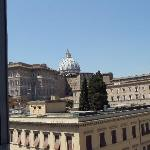 You can see the basilica from your room