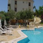  Hotel dionysia pool area