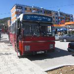  le bus pour rejoindre tirana