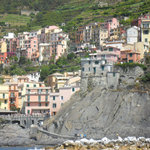 Manarola from boat