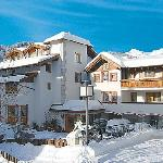 Garni Hotel Alpina Serfaus, Austria in winter