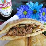 Shredded Lamb Naanini