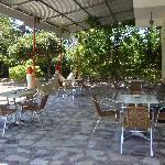 Patio area.